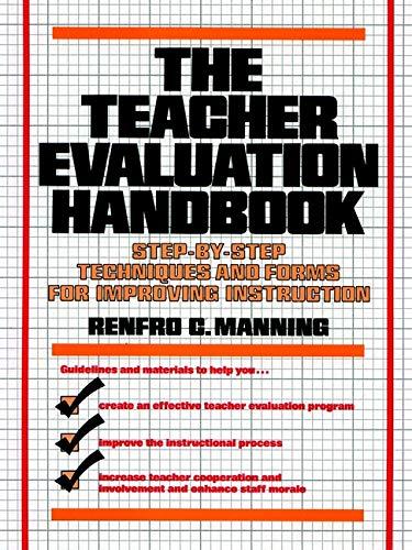 The Teacher Evaluation Handbook: Renfro C. Manning