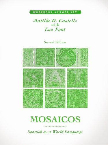 9780138885953: Mosaicos: Spanish As a World Language : Workbook Answer Key