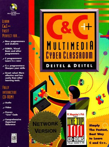 9780138900625: Network Version: C & C++ Multimedia Cyber Classroom