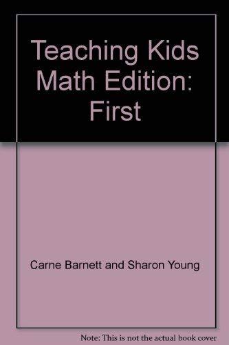 9780138935290: Teaching Kids Math