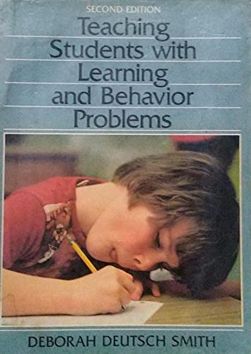 9780138941895: Teaching Students With Learning and Behavior Problems