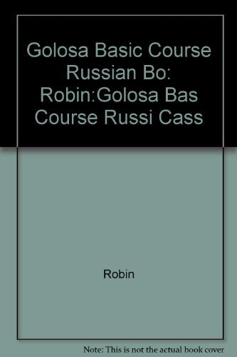 Audio Program to Accompany Golosa: A Basic Course in Russian, Book 1