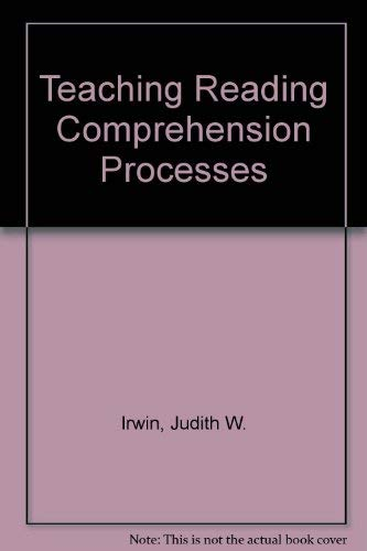 9780138952693: Teaching Reading Comprehension Processes