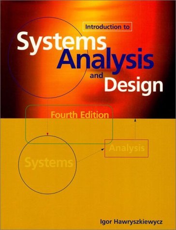 9780138968878: Introduction to Systems Analysis and Design