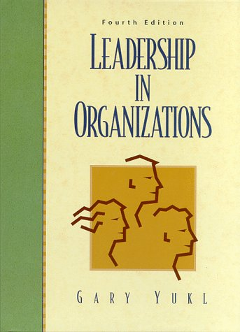 9780138975210: Leadership in Organizations (4th Edition)