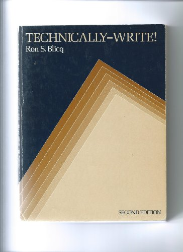 9780138987008: Technically--write!: Communicating in a technological era