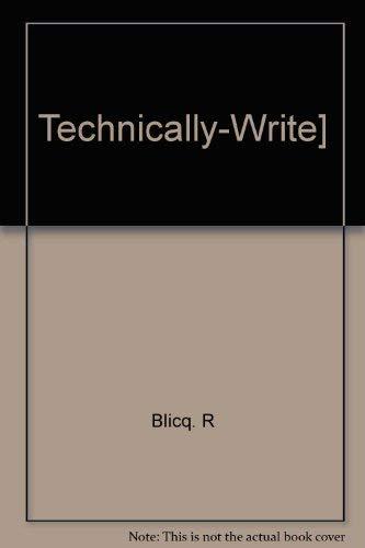 9780138988340: Technically-Write]