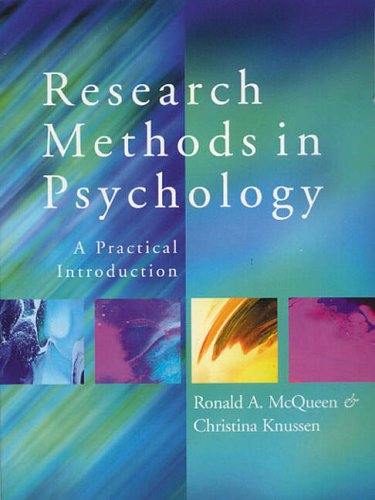 9780138992385: Introduction to Research Methods in Psychology