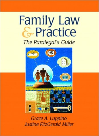 9780139011252: The Family Law and Practice: The Paralegals Guide