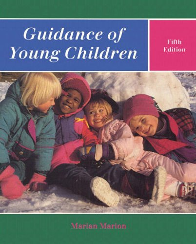 9780139011665: Guidance of Young Children