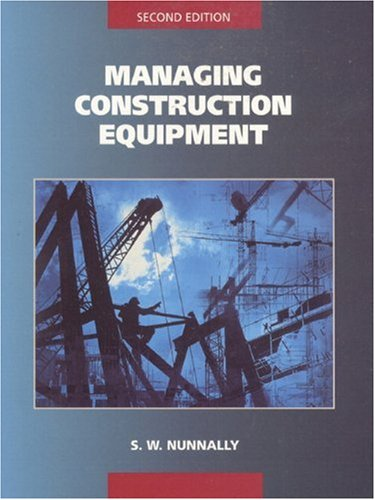 9780139012167: Managing Construction Equipment