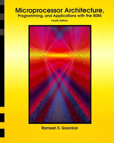9780139012570: Microprocessor Architecture: Programming and Applications with 8085