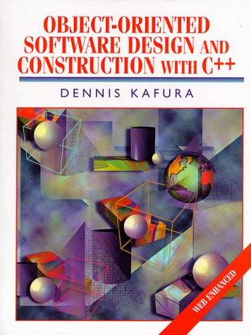 9780139013492: Object-Oriented Software Design and Construction With C++ (Alan R Apt Book)