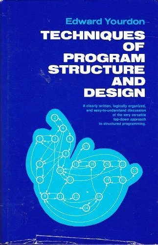 9780139017025: Techniques of Program Structure and Design