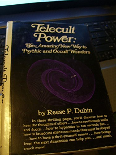 9780139024375: Telecult Power; The Amazing New Way to Psychic and Occult Wonders,