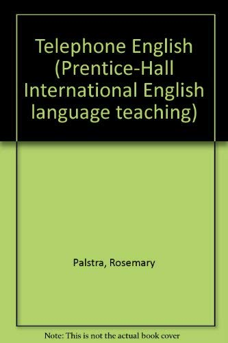 9780139027437: Telephone English (Prentice-Hall International English Language Teaching)