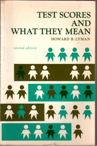 9780139037818: Test Scores and What They Mean (second edition)