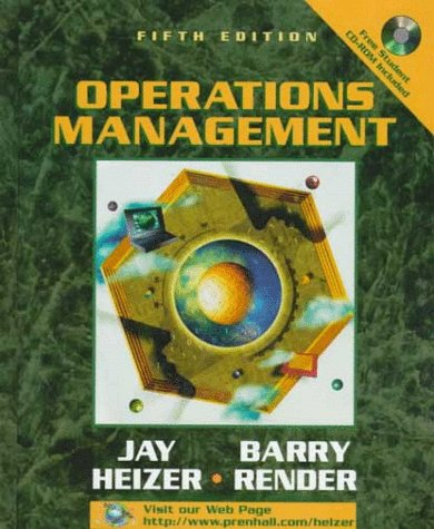 9780139050688: Operations Management
