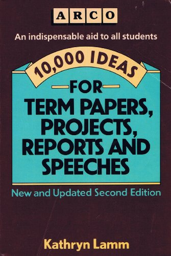ideas for term papers Dealing with a 10 page paper assignment: the best business topics a 10-page paper will not seem such a great deal of work if you have a broad and interesting topic to explore throughout it.