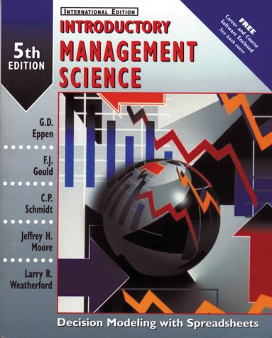 9780139064395: Introductory Management Science: Decision Modeling with Spreadsheets (Prentice Hall International Editions)