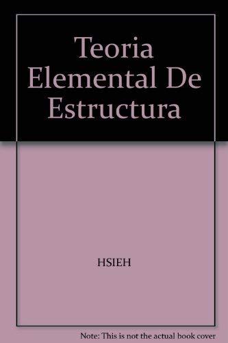 9780139066283: Teoria Elemental De Estructura