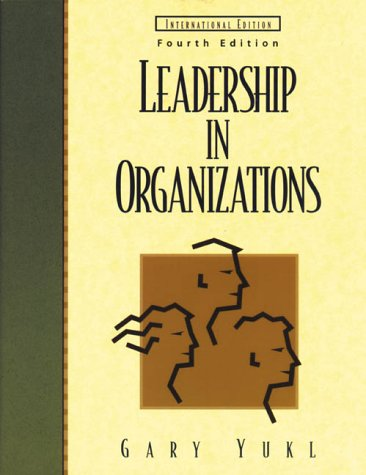 9780139067020: Leadership in Organizations (Prentice Hall international editions)