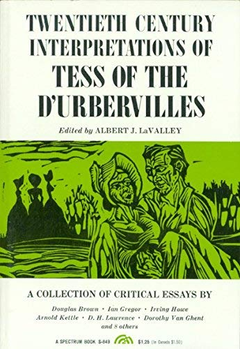 "9780139068003: ""Tess of the D'Urbervilles"": A Collection of Critical Essays (20th Century Interpretations)"