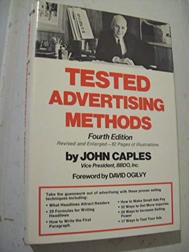 9780139069093: Tested Advertising Methods