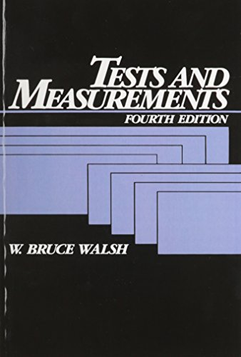9780139069185: Tests and Measurements (4th Edition)