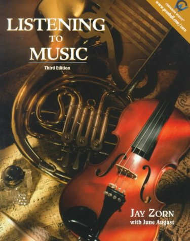 9780139073465: Listening to Music (3rd Edition)