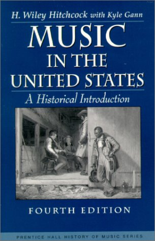 9780139076435: Music in the United States: A Historical Introduction (Prentice Hall History of Music Series)