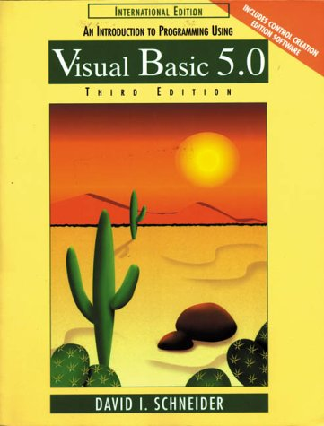 9780139078330: Introduction to Programming Using Visual Basic 5.0 (Prentice Hall international editions)