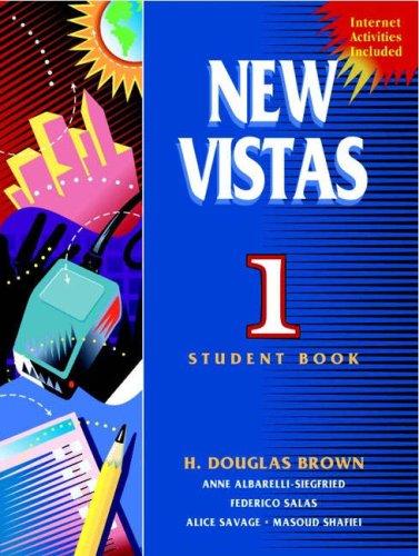 9780139081958: New Vistas 1 (Bk. 1)