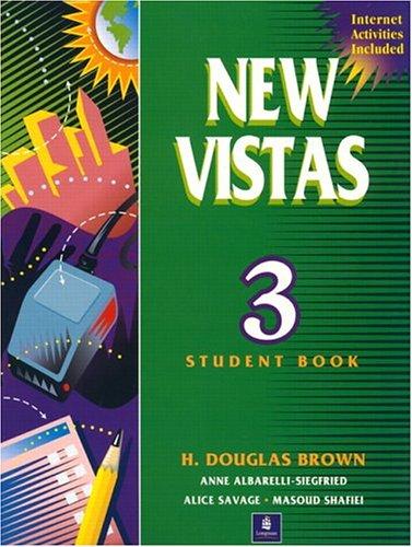 9780139082788: New Vistas, Book 3, Second Edition (Student Book)