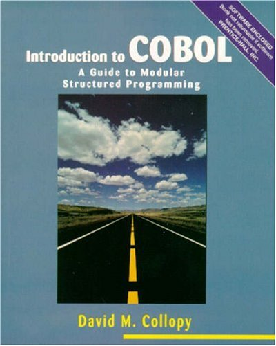 9780139090608: Introduction to COBOL: A Guide to Modular Structured Programming