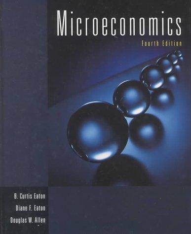 9780139111082: Microeconomics (4th Edition)
