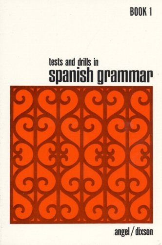 9780139117770: Tests and Drills in Spanish Grammar: Book 1 (Bk.1)
