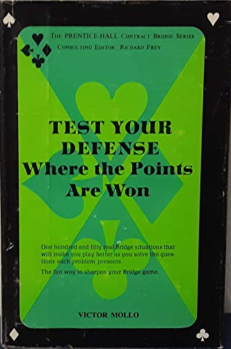Test your defense: Where the points are won (0139119175) by Victor Mollo