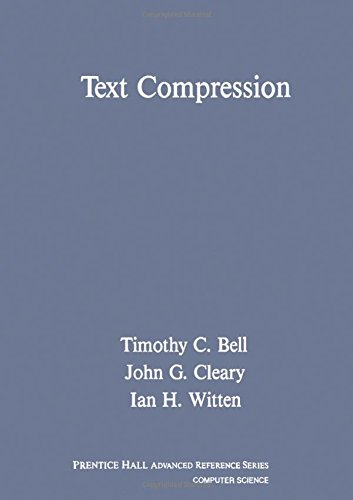9780139119910: Text Compression (Prentice Hall Advanced Reference Series)