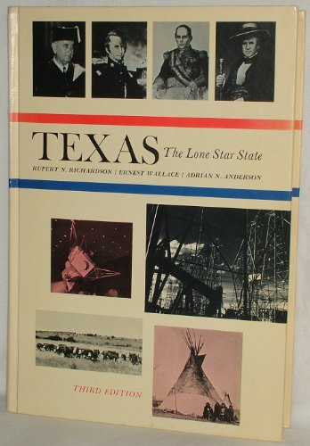 9780139124365: Texas, the Lone Star State