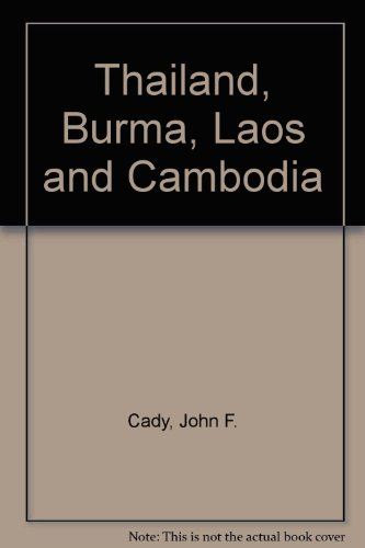 9780139131295: Thailand, Burma, Laos and Cambodia