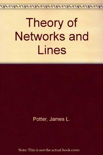 9780139132285: Theory of Networks and Lines