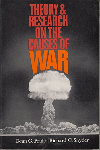 9780139134180: Theory and Research on the Causes of War