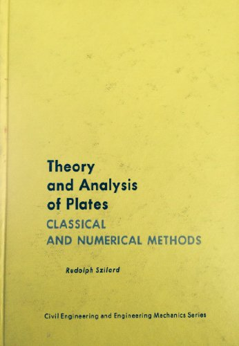 9780139134265: Theory and Analysis of Plates: Classical and Numerical Methods (Civil engineering and engineering mechanics series)