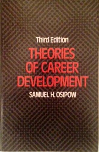 9780139136405: Theories of Career Development (Century psychology series)