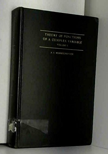 9780139138065: Theory of Functions of a Complex Variable, Volume I