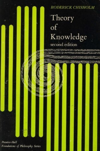 9780139141508: Theory of Knowledge