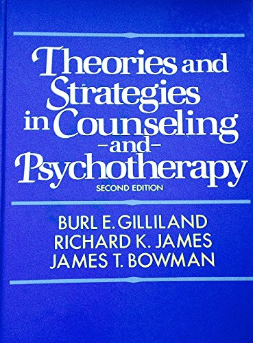 9780139142192: Theories and Strategies in Counselling and Psychotherapy