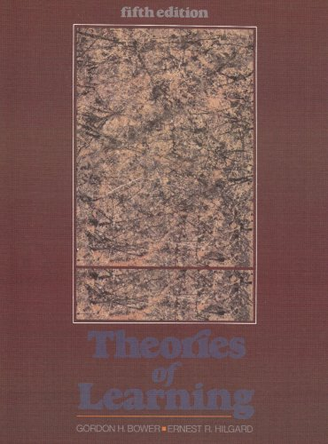 9780139144325: Theories of Learning (The Century Psychology Series)