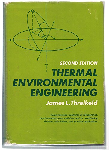 9780139147210: Thermal Environmental Engineering